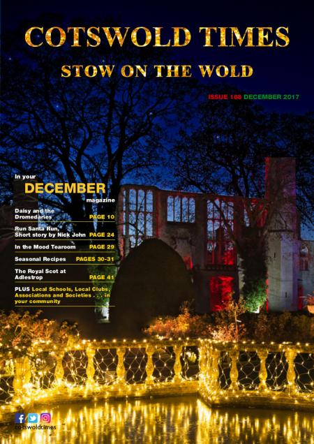 Front page of Stow Times - December 2017